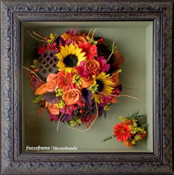 Frame Your Wedding Flowers Columbus Flower Preservation