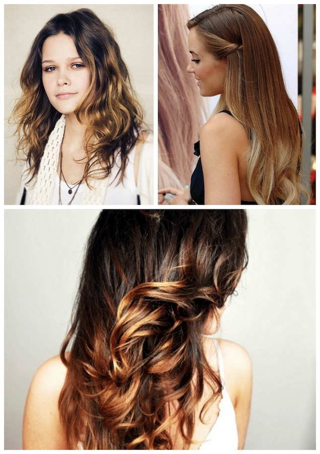 Oh The Lovely Things Obsession Ombre Hair With DIY - Diy ombre hairstyle