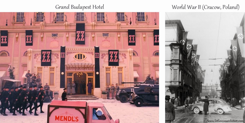 Grand Budapest Hotel, set design, fascist