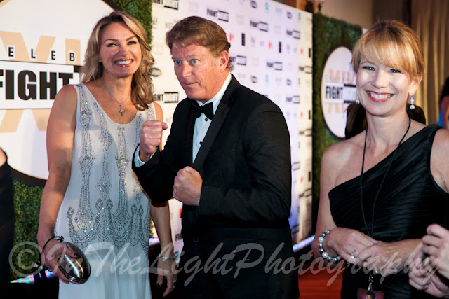 Celebrity Fight Night 2013 Red Carpet Christopher Rich Ewa Jesionowska