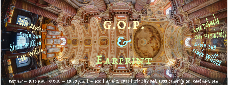G.O.P. & Earprint Live at The Lily Pad Banner