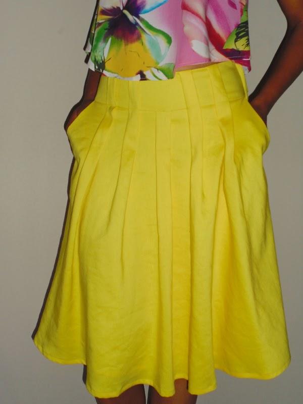 Stepalica Patterns: Zlata suknja - testiranje kroja, Ariana