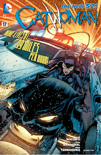 Cover of Catwoman #17 from DC Comics