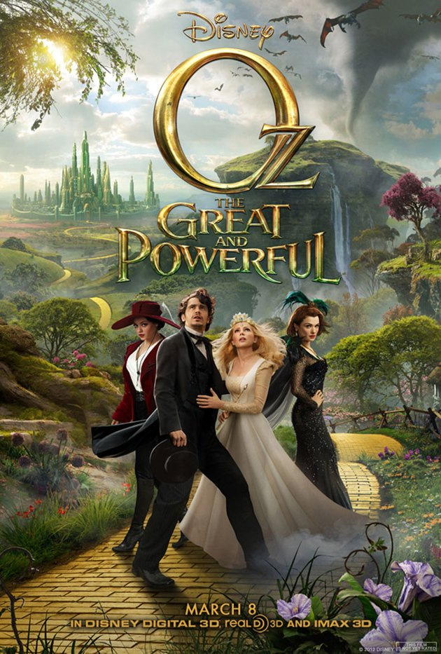 ตัวอย่างหนังใหม่ :  Oz: The Great and Powerful (ออซมหัศจรรย์พ่อมดผู้ยิ่งใหญ่) ตัวอย่างที่ 2 ซับไทย poster