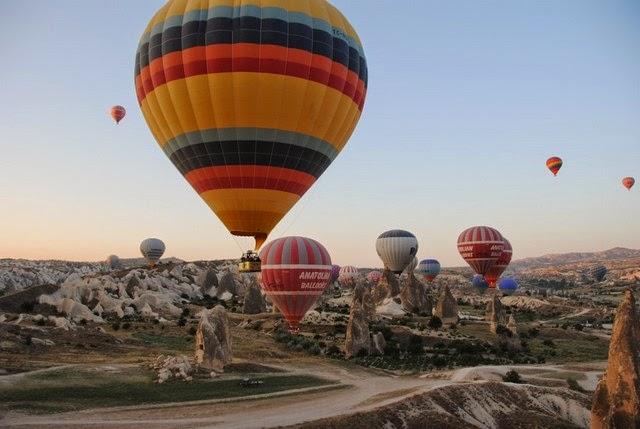 20. Cappadocia (Cappadocia, Turkey)