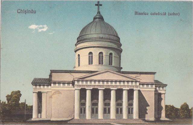 Catedrala din Chisinaul de altadata