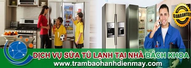 Dịch vụ sửa tủ lạnh tại nhà Bách Khoa