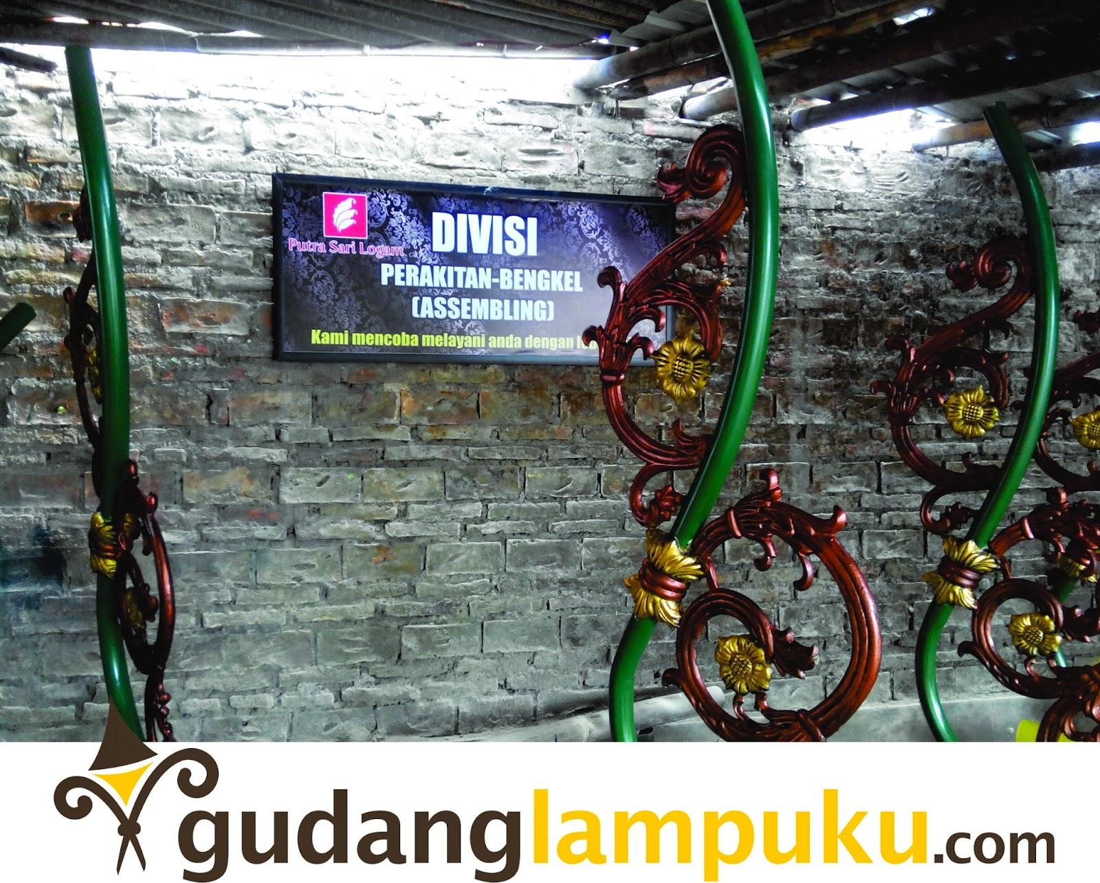ornamen tiang lampu kabupaten klaten
