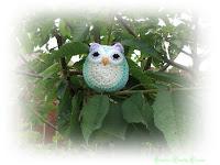 crochet toy, cute, owl, easy