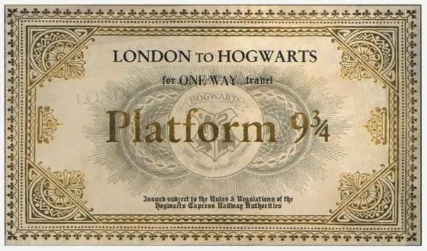 Билет на поезд в хогвартс своими руками 63