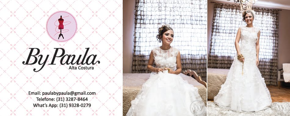 By Paula Vestidos de noiva