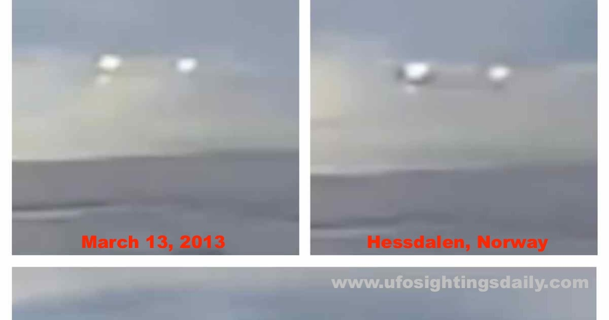Ufo Sightings Daily Two Glowing Ufos Over Norway Seen