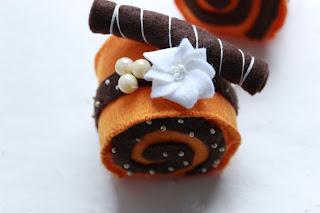 игольница, красивые игольницы, десерт из фетра, сшить десерт, оригинальный подарок.