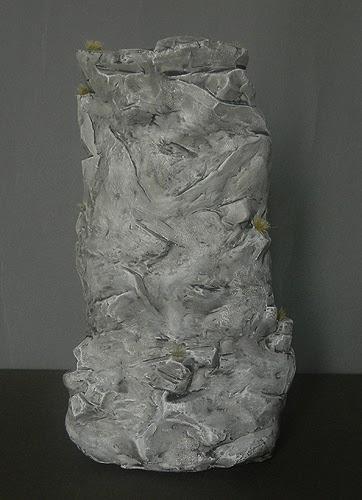 diorama modellismo roccia scalatore alpinista statuine personalizzate orme magiche