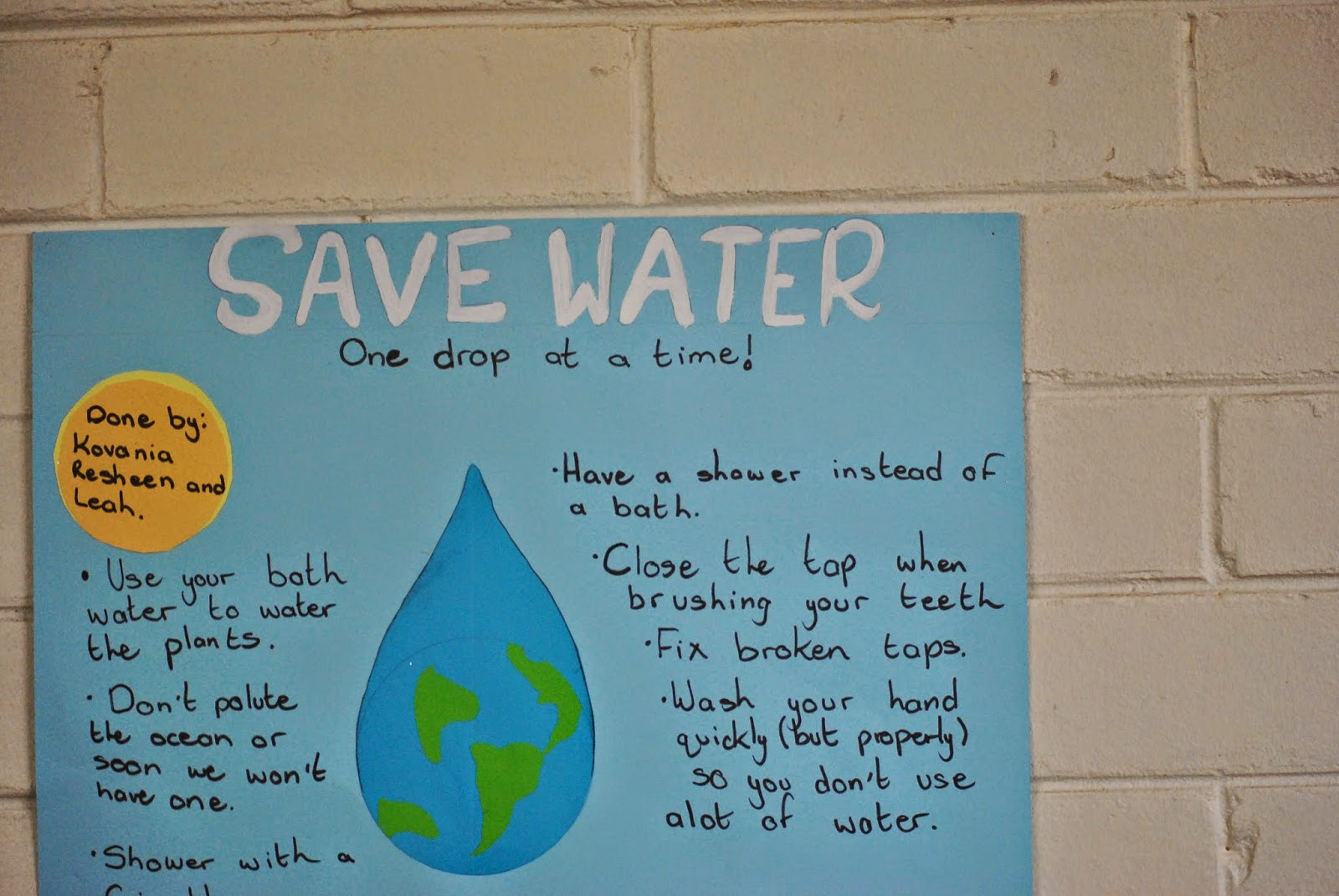essay on save water save life for kids Let our motto be save water, save life, save the world amrita is a std ix student at bmm english medium school, pampady, kottayam sign up to receive our newsletter in your inbox every day.
