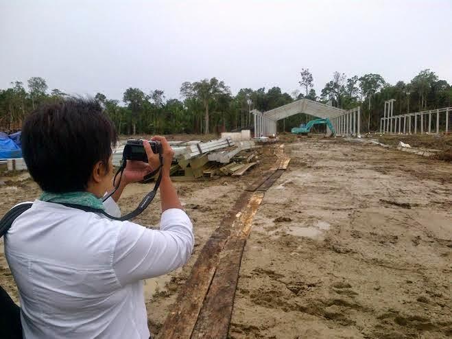 Pabrik Sagu Modern dan Terbesar yang sedang di bangun di Papua