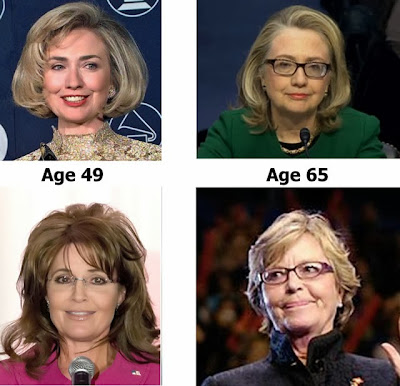 Sarah Palin and Hillary both gonna be ugly