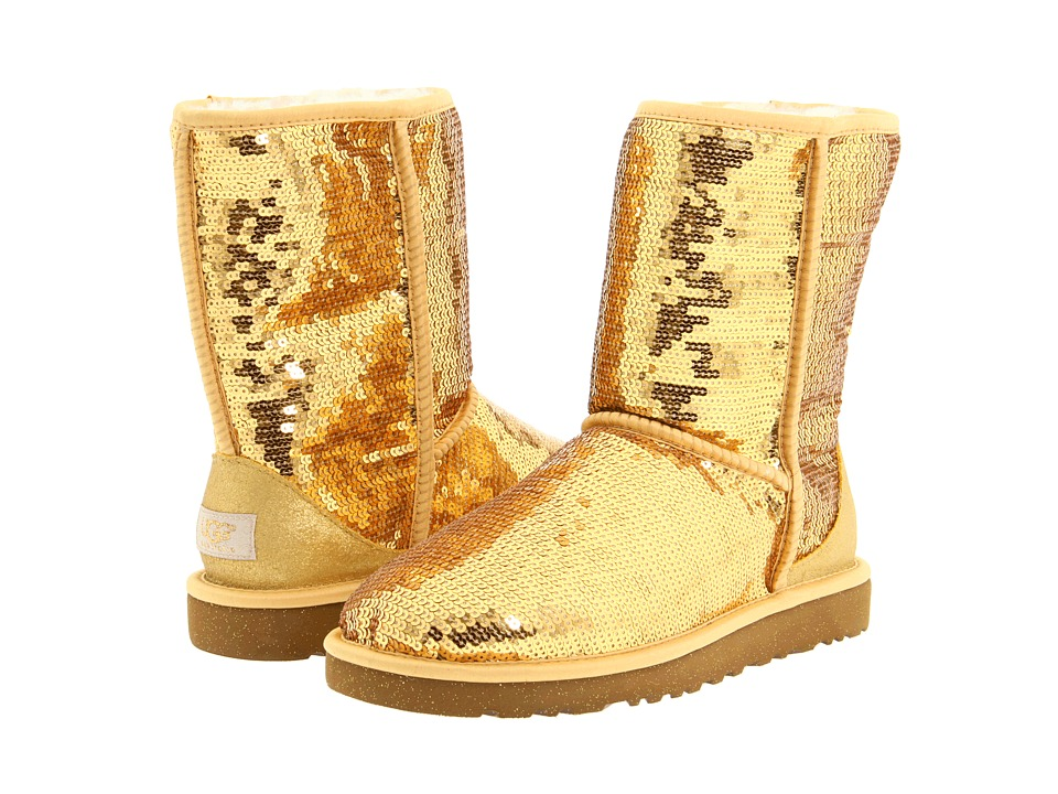 Gold Sequin Uggs of These Gold Sequin Uggs