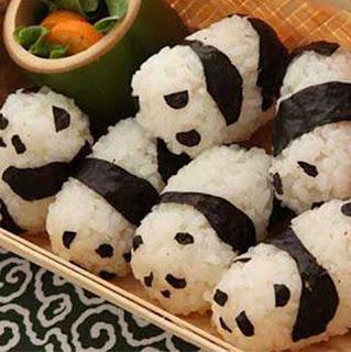 comida creativa creatividad alimentacion cuqui cute animal animales bichos bonito colores osos panda