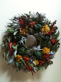 Herb Wreath 18""