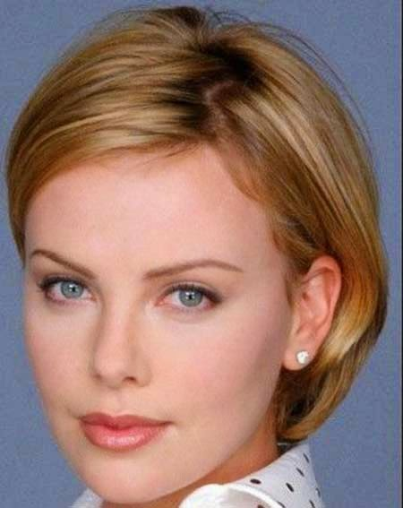 Short Hairstyles Fine Hair Oval Face