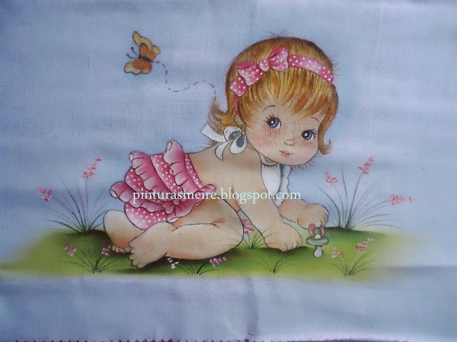 Populares PINTURAS MEIRE: fraldas pintadas UQ78