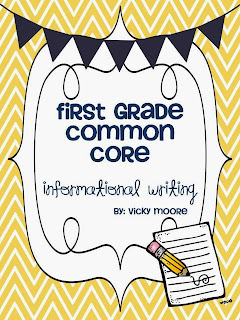 http://www.teacherspayteachers.com/Product/Common-Core-Informational-Writing-first-grade--645938