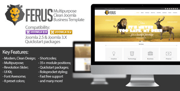 Ferus - Clean Responsive Multipurpose