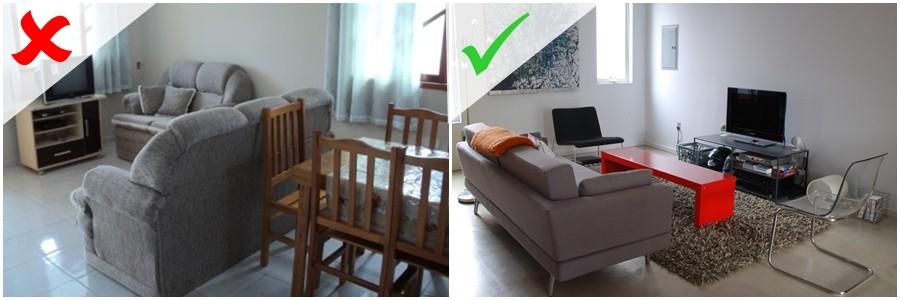 Como decorar sala de estar pequena seja diferente seja for Como decorar una sala de estar pequena
