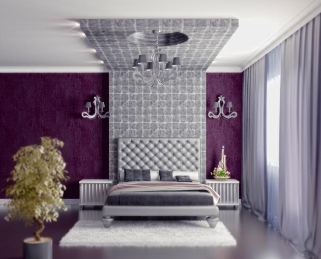 navarro valera cortinas y ropa de hogar decoracin en morado un color relajante - Cortinas Moradas