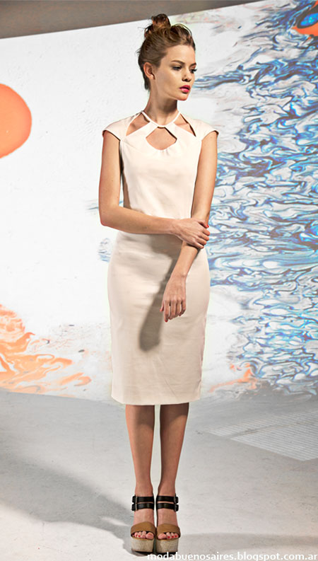 Vestidos 2015 cortos moda verano 2015 Mancini looks.