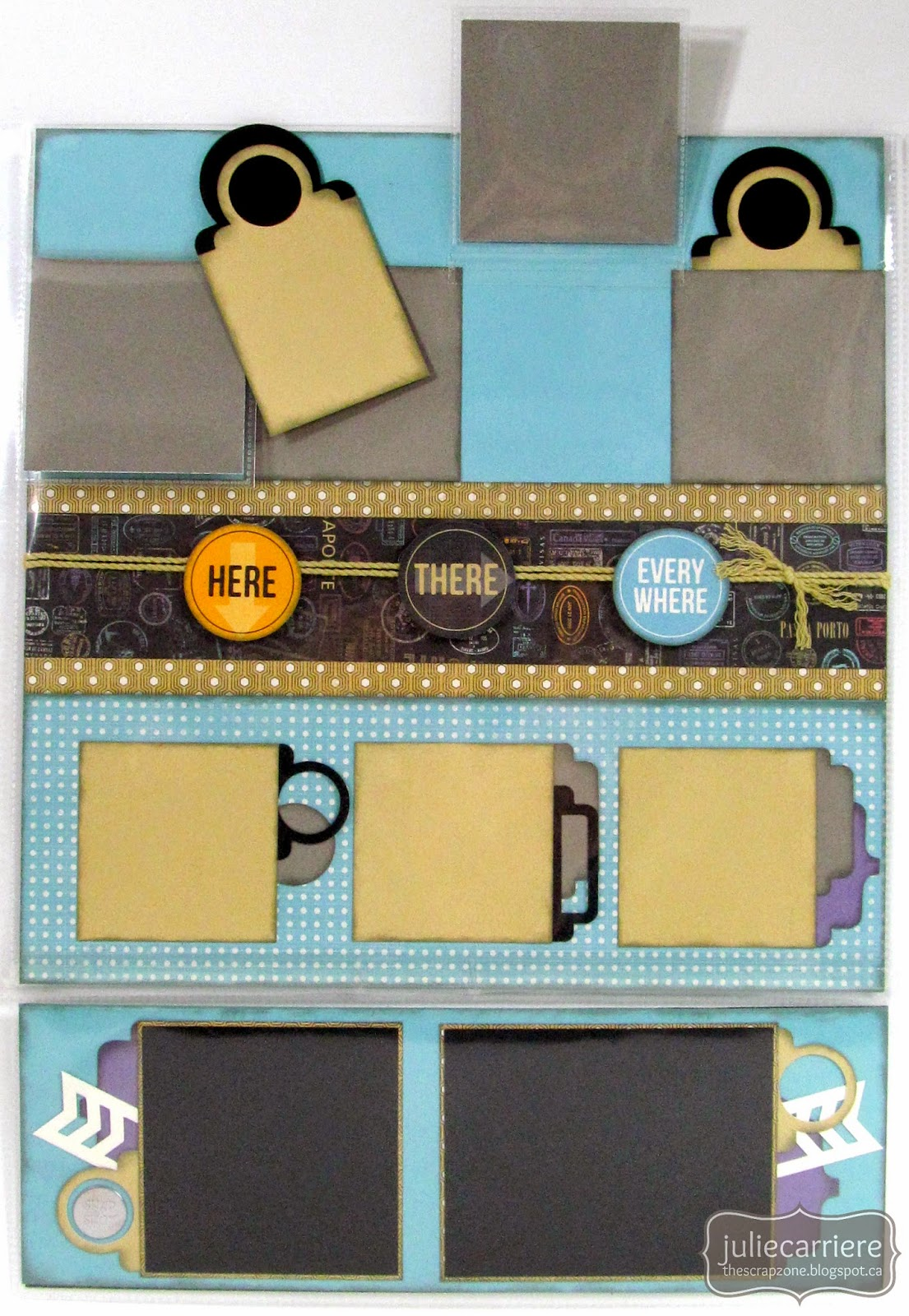 CTMH Wanderful Flip Flap Layout