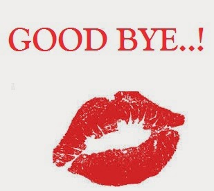 difficult thing to do is to say good bye ...