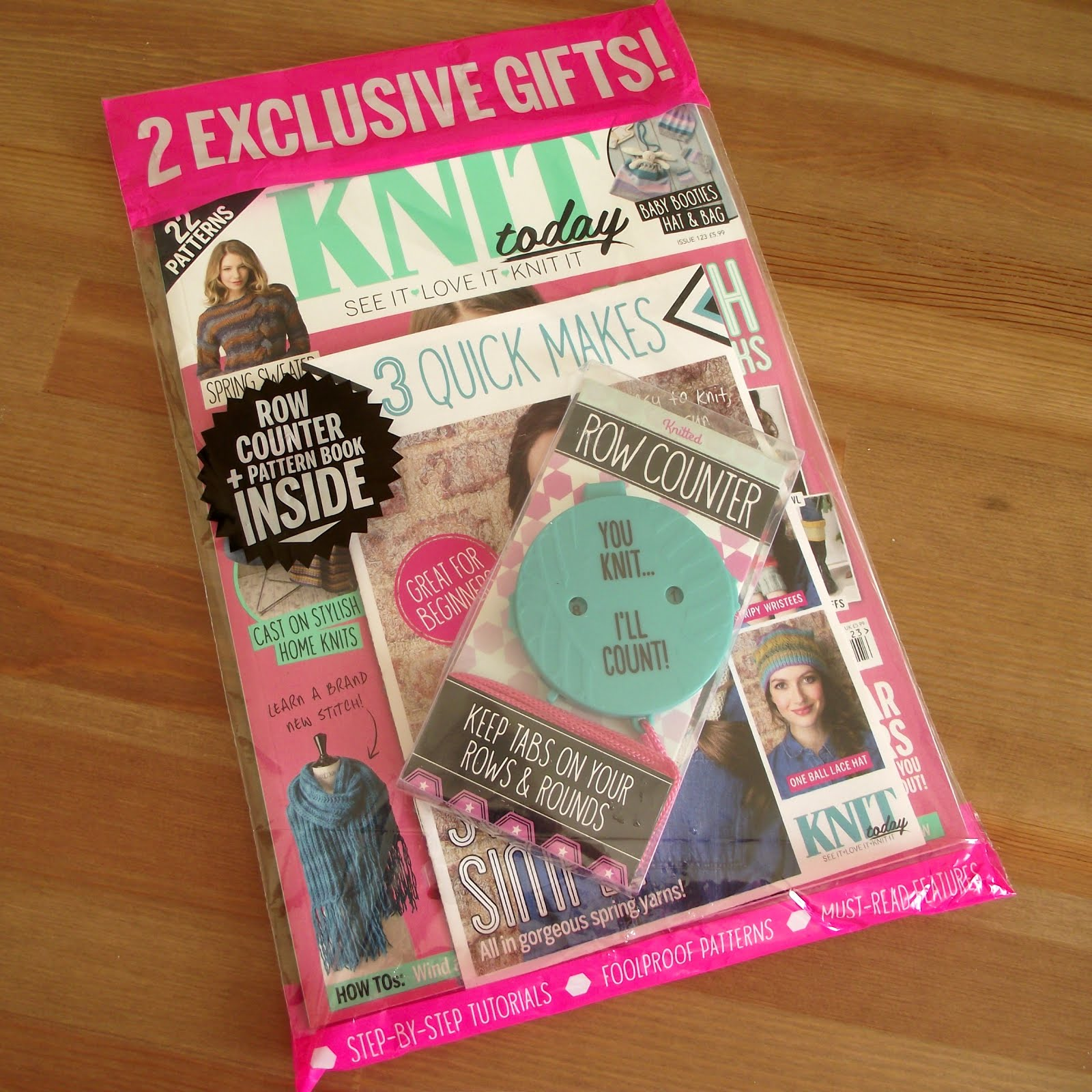 I was featured on Knit Today Magazine