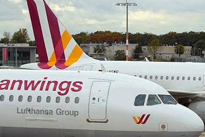Pesawat Germanwings dengan 148 Penumpang didalamnya Terhempas