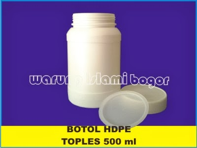 Jual Botol Toples HDPE 500ml