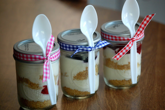 Heritage Schoolhouse: Cheesecake in a Jar