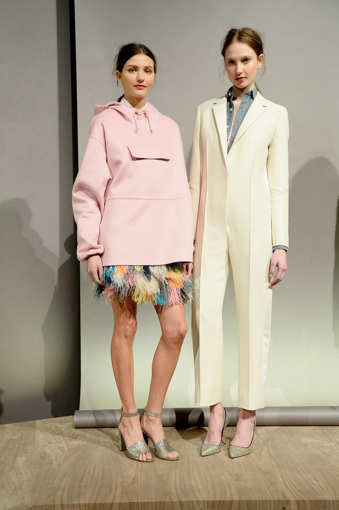 J. Crew New York Fashion Week Pastels