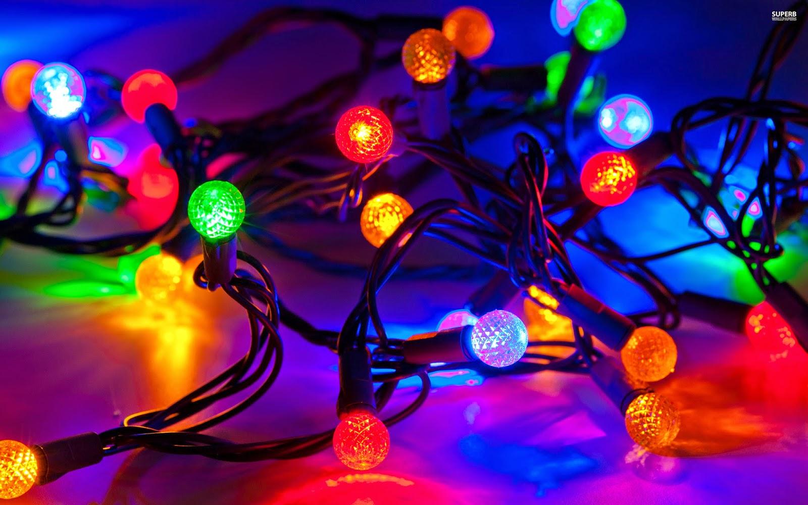 Colorful Christmas Tree Light