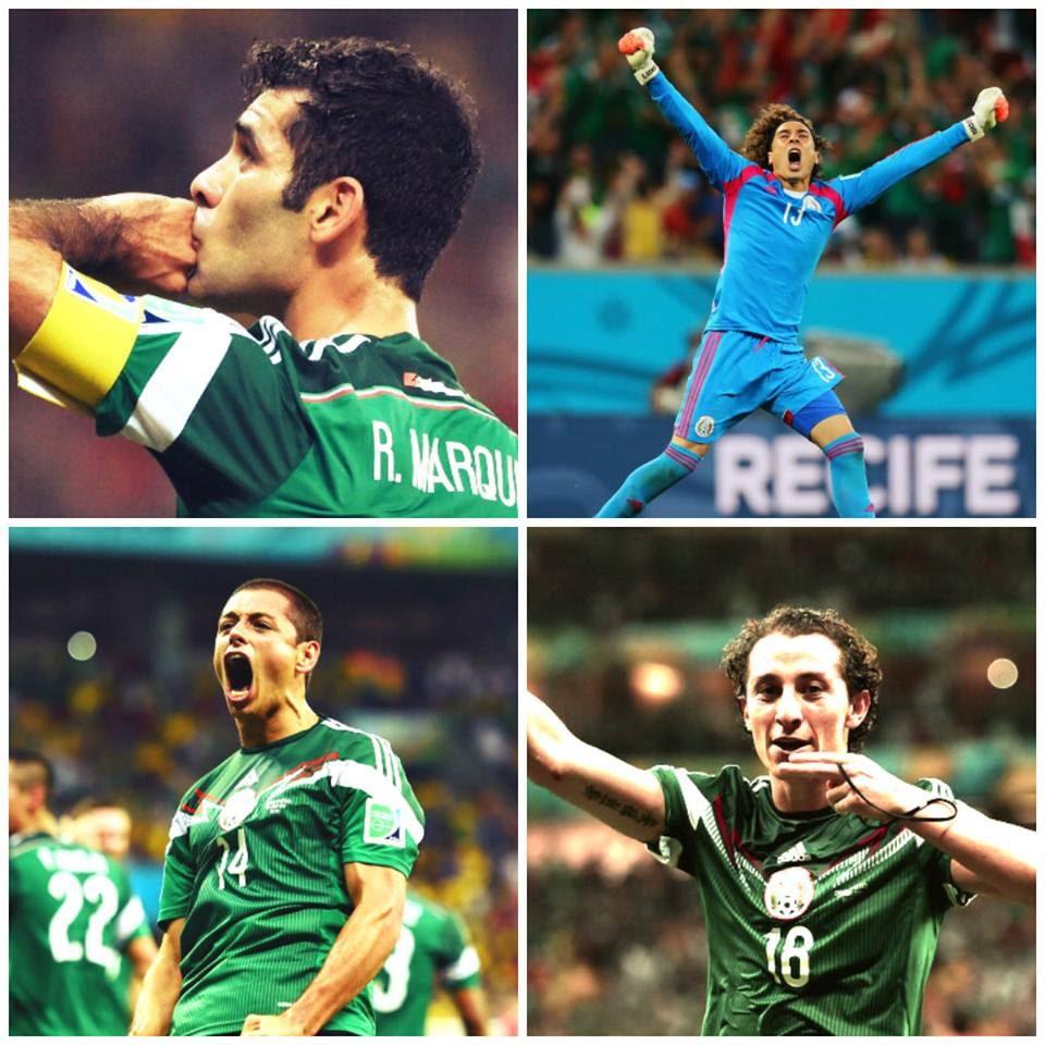México calificó a octavos de Final