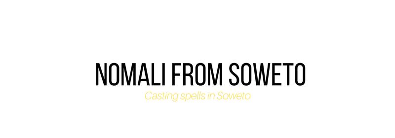 Nomali from Soweto