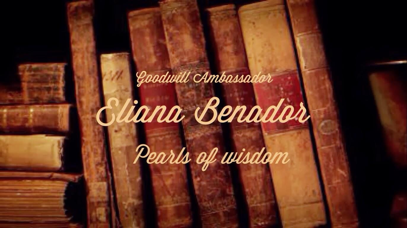 Goodwill Ambassador Eliana Benador