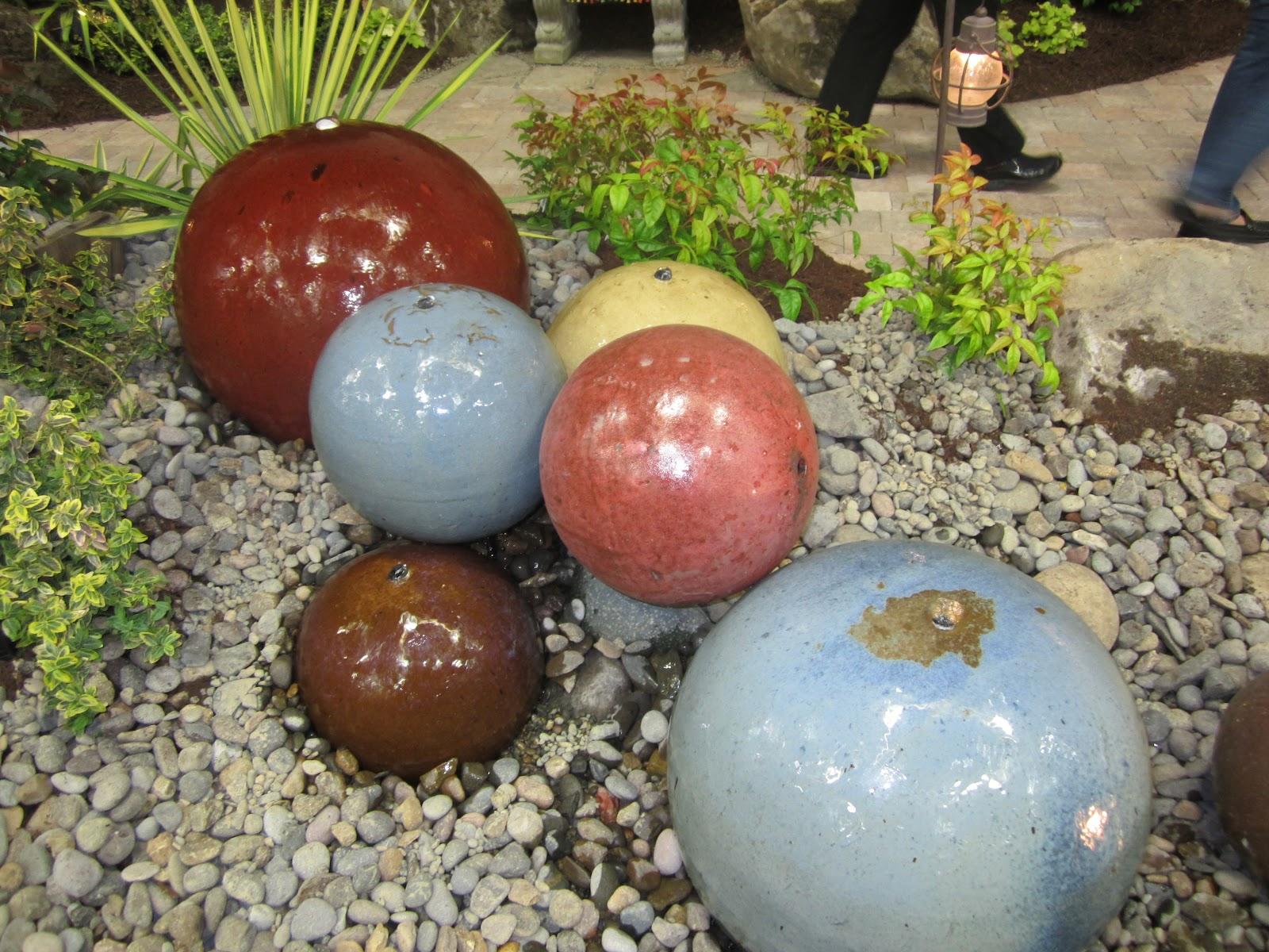 Charming A Few Photos From The Yard, Garden U0026 Patio Show Portland, OR. Each Ceramic  Ball ...