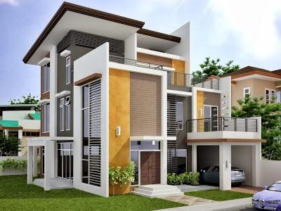 gambar desain rumah minimalis modern kumpulan gambar