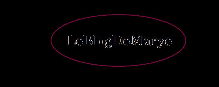 Le blog de Marye