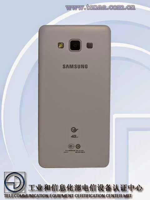 Pictures of Samsung Galaxy A7 arrives in China