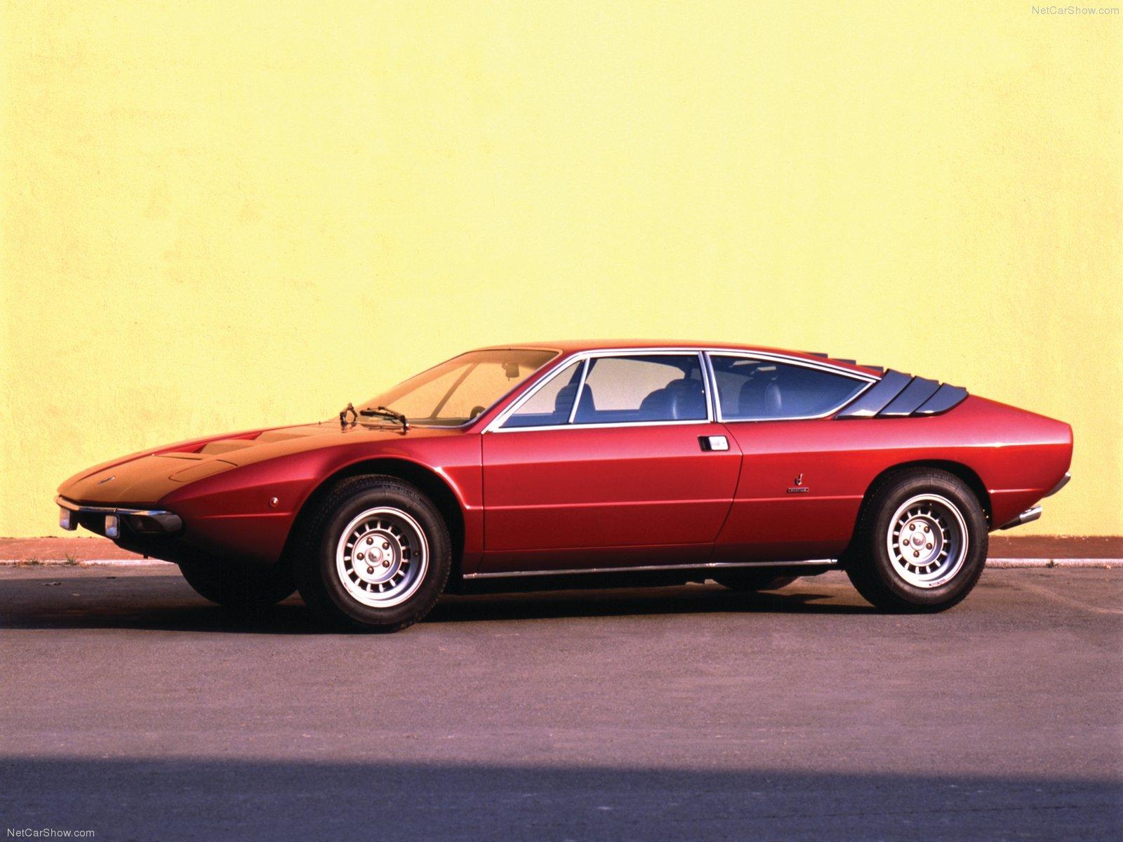 Hình ảnh siêu xe Lamborghini Urraco 1972 & nội ngoại thất