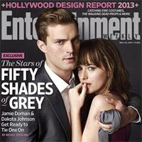 """Primeras imágenes oficiales de """"50 Sombras de Grey"""" en Entertainment Weekly"""