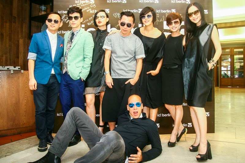 ic! berlin MIDO 2014 U-Bahn Collection Launch in Malaysia, Derrick Hoo, Lawrence Wong, Xin Le, Jimmy Ong,  Wang Qie, Ley Ting, Jojo Goh, Ralph Anderl, ic! berlin MIDO 2014 U-Bahn Collection, ic Berlin, Sunglasses, ic berlin spring summer 2014, berlin metro