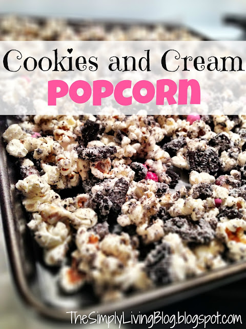 Cookies and Cream Popcorn Submitted by